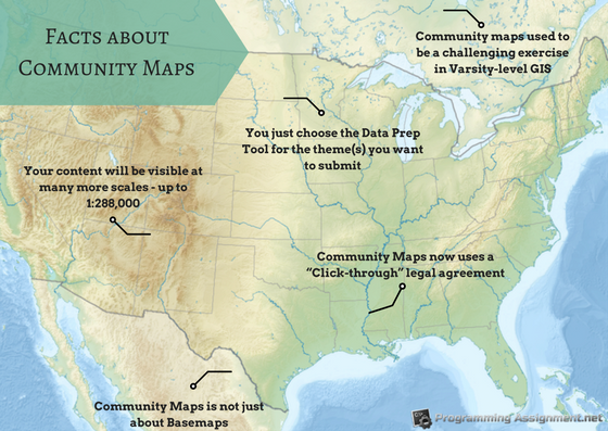 ARCGIS community maps
