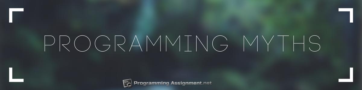 programming myths banner