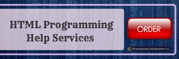 html programming help services