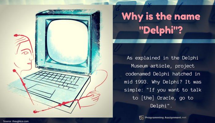 interesting fact about delphi programming language