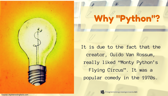 interesting fact about python programming