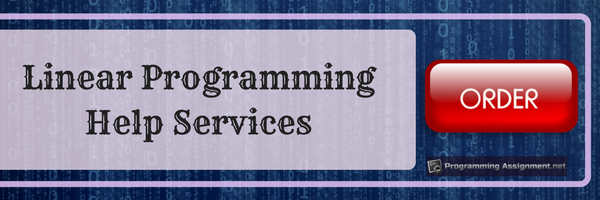 linear programming help services