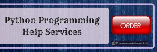 python programming help services