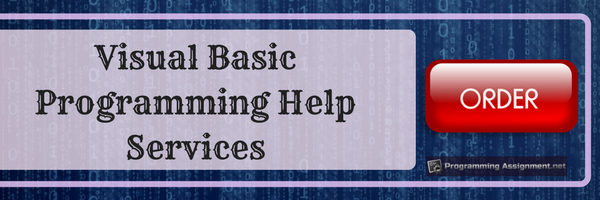 visual basic programming help services