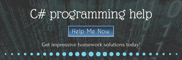 c# programming help order now