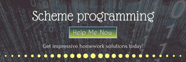 scheme programming help